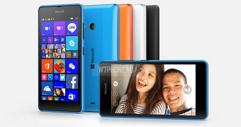 Microsoft представила Lumia 540 Dual SIM за $150