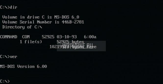 Lumia будет работать на MS-DOS Mobile