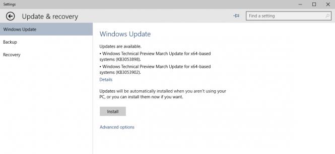 Microsoft выпустила два патча для Windows 10 сборки 10049