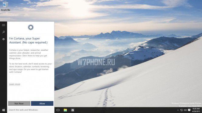 Вышла Windows 10 Insider Preview Build 10074