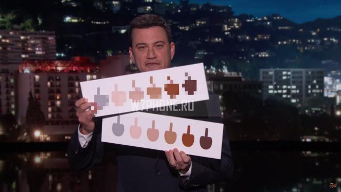 Emoji Windows 10 со средним пальцем (почти) показаны на ТВ в США