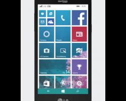 LG выпустила WP-смартфон Lancet