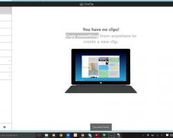 Microsoft готовит сервис OneClip для отправки буфера обмена между разными устройствами