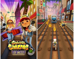 В Subway Surfers новая локация — Лос-Анджелес