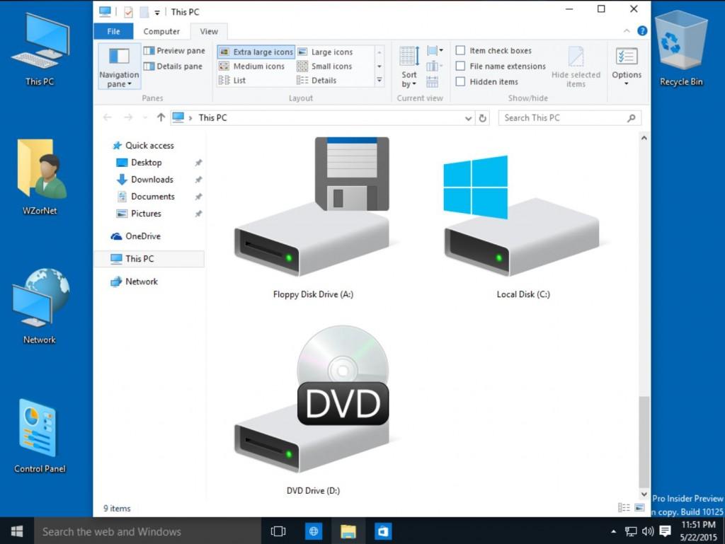 изменение интерфейса Windows 10 - фото 4