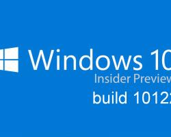 Сегодня выйдет сборка 10122 Windows 10 Insider Preview для участников «быстрого кольца»