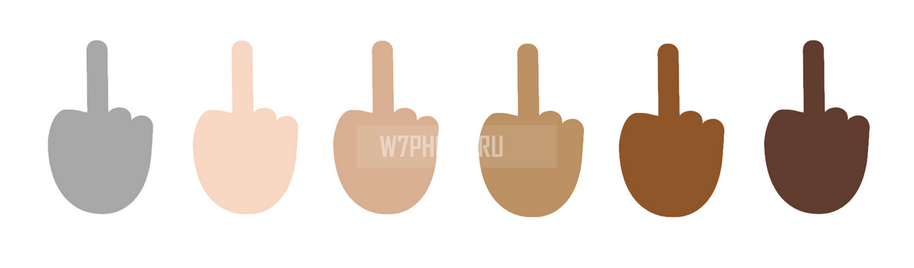 emoji-finger