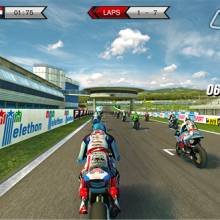 На Windows Phone вышла гоночная игра SBK15 Superbike World Championship