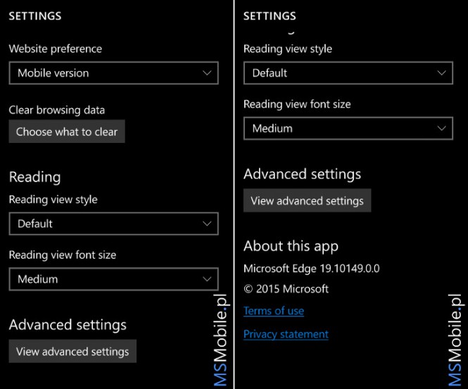 3 Windows 10 Mobile Build 10149