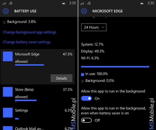 6 Windows 10 Mobile Build 10149