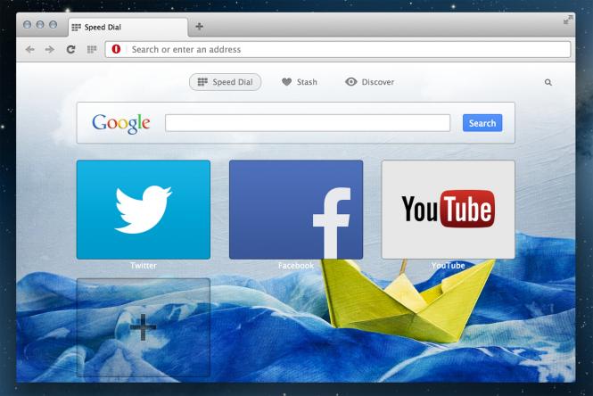 Opera разрабатывает версию браузера для Windows 10