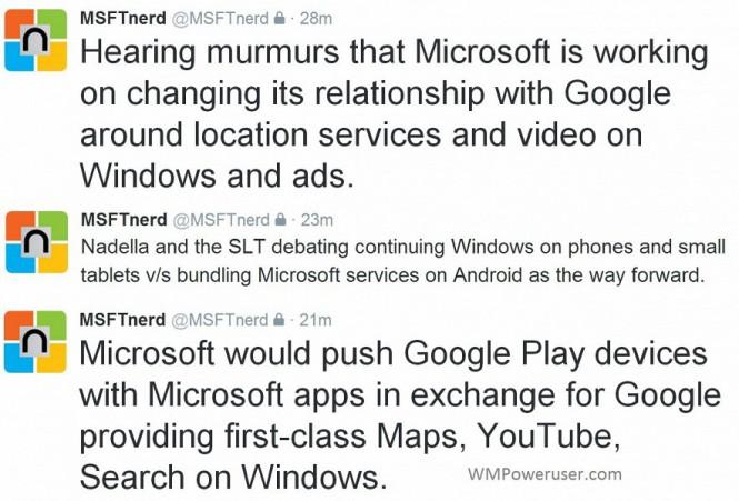 Microsoft перейдет на Android