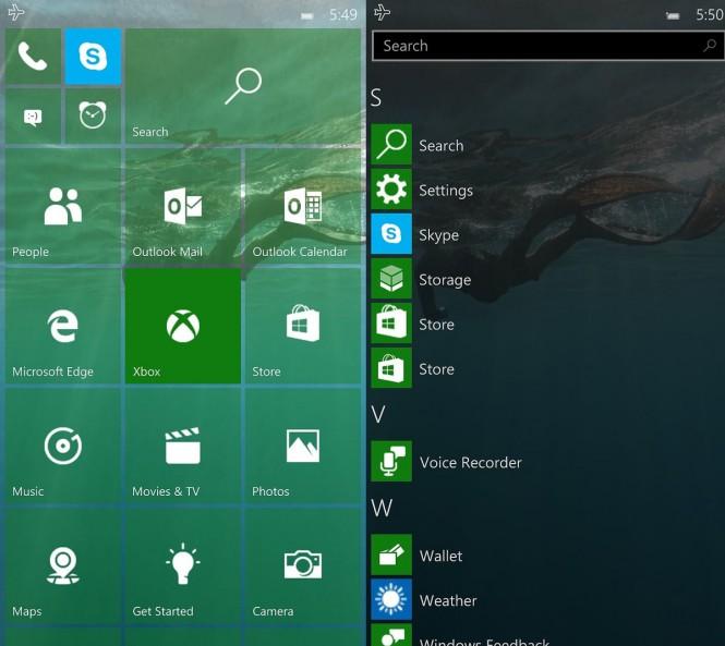 Скриншоты Windows 10 Mobile build 10158 попали в Интернет