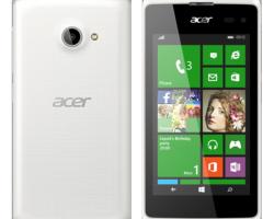 В России начались продажи Windows Phone-смартфона от Acer