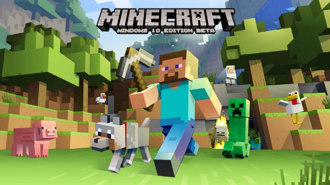 Игра Minecraft Windows 10 Edition Beta появится Windows Store