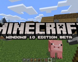 Выпущена игра Minecraft: Windows 10 Edition Beta