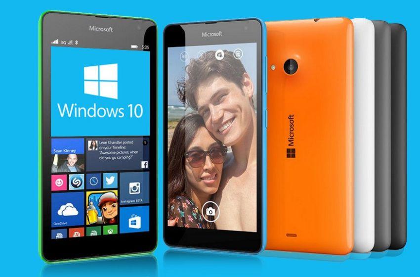 Microsoft подтвердила, что все устройства с Lumia Denim получат Windows 10 Mobile