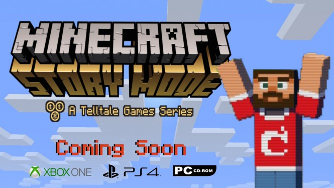 Telltale и Mojang выпустят Minecraft Story Mode