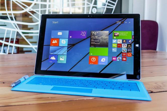 Появилась более дешёвая модель Surface Pro 3 с Core i7 и 8 GB RAM