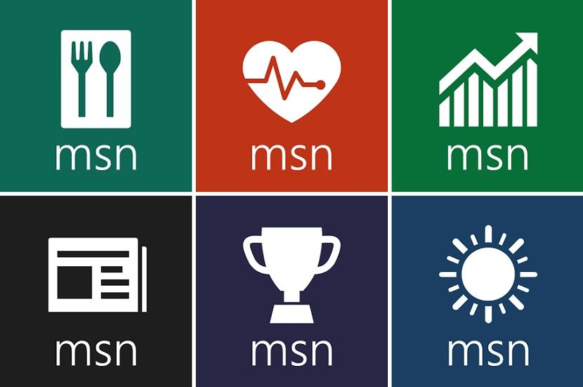 Патчи получили утилиты MSN Food & amp; Drink и MSN Health & amp; Fi