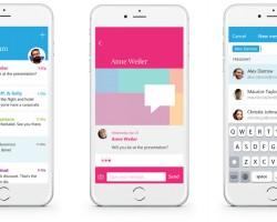 Send— почтовое приложение Microsoft синтерфейсом мессенджера