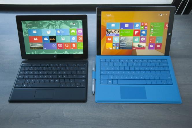 Слухи: Новый планшет Surface окажется на рынке в октябре