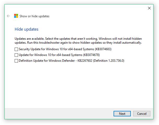 Microsoft выпустила инструмент для блокировки нежелательных обновлений Windows 10
