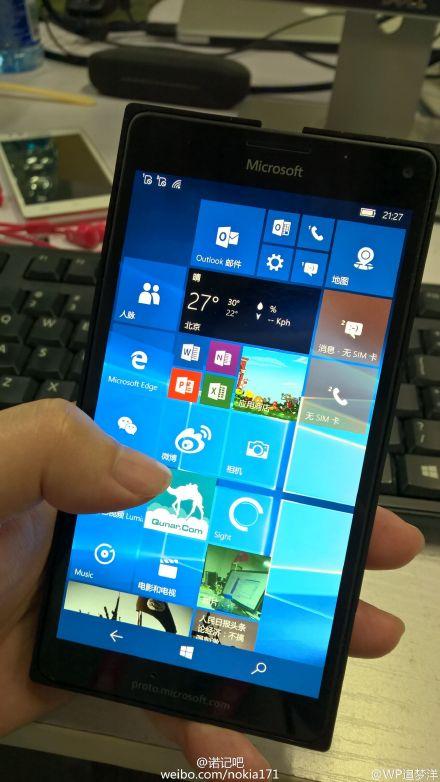 В сеть утекли новые фотографии Lumia 950