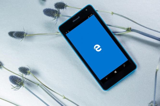 В очередной сборке Windows 10 Mobile IP ожидается крупное обновление для Edge