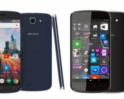 Компания Archos представила смартфон на базе Windows 10 Mobile