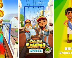 В Subway Surfers новая локация — Греция