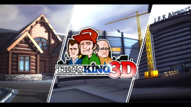 Game Troopers представила новую игру Trucking 3D