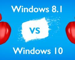 Windows 10 vs. Windows 8.1: сравнение скорости работы