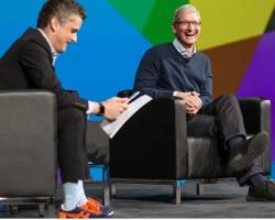 Тим Кук рассказал о дружбе Apple и Microsoft
