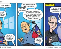 Microsoft на презентации Apple