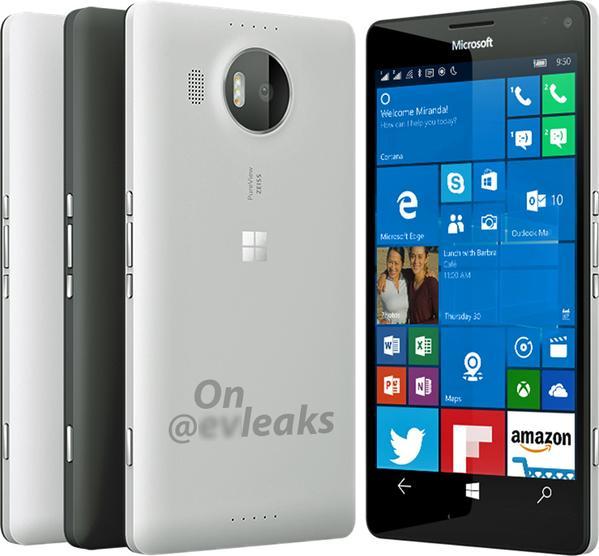 Эван Бласс опубликовал новое изображение Lumia 950 XL