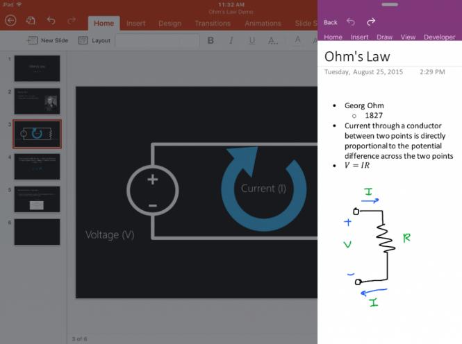 Microsoft рассказала о новых возможностях Office для iOS 9 и iPad Pro