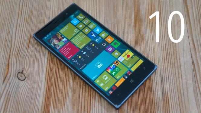 В магазине Microsoft отмечены устройства, которые получат Windows 10 Mobile