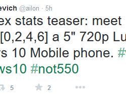 Наподходе ещё один смартфон Microsoft— Lumia 750