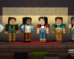 В следующем месяце на ПК, консолях и мобильных устройствах появится игра Minecraft: Story Mode