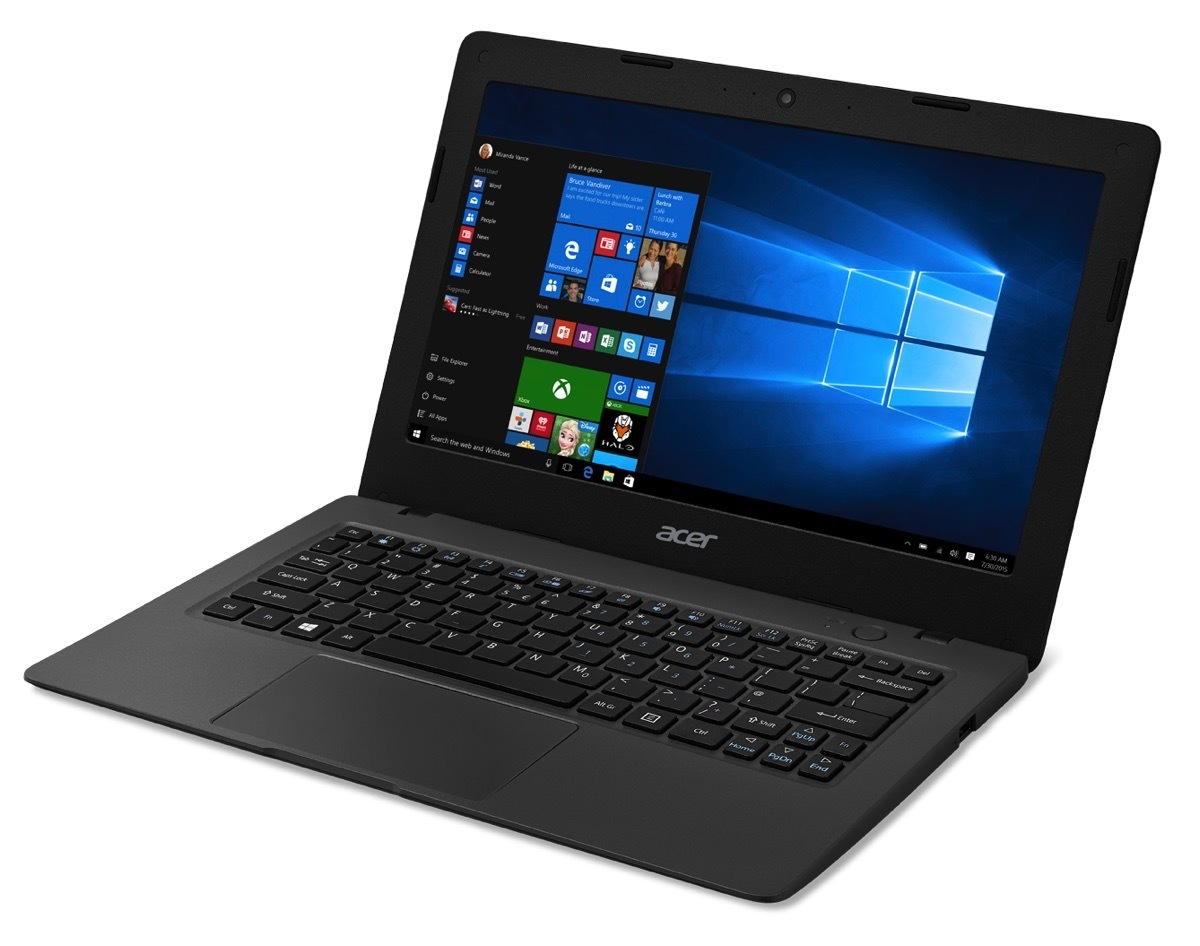 Aspire One Cloudbook — ноутбук на Windows 10 за $169