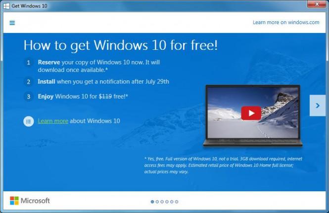 Windows 10 загружается на ПК даже в том случае, пользователь её не зарезервировал