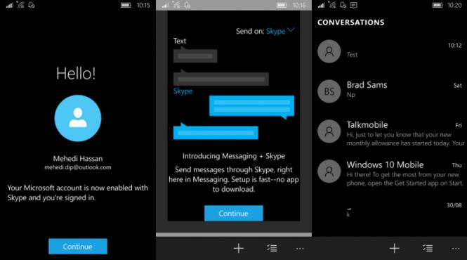 Messaging Skype Beta для Windows 10 Mobile получила первое обновление
