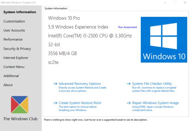 Ultimate Windows Tweaker 4 даёт более 200 опций для настройки Windows 10