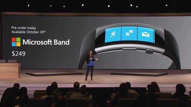 Встречайте Microsoft Band нового поколения
