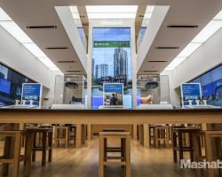 Внутри флагманского магазина Microsoft в Нью-Йорке