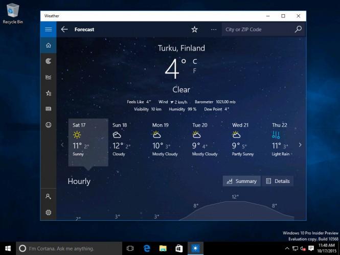 В сеть утекла сборка Windows 10 10568