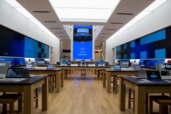 Microsoft открыла магазин нового типа в Нью-Йорке