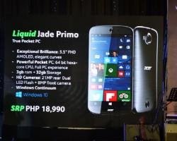 Acer Liquid Jade Primo появится вдекабре ибудет недорогим