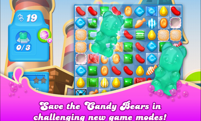 В магазине приложений для Windows 10 появилась игра Candy Crush Saga